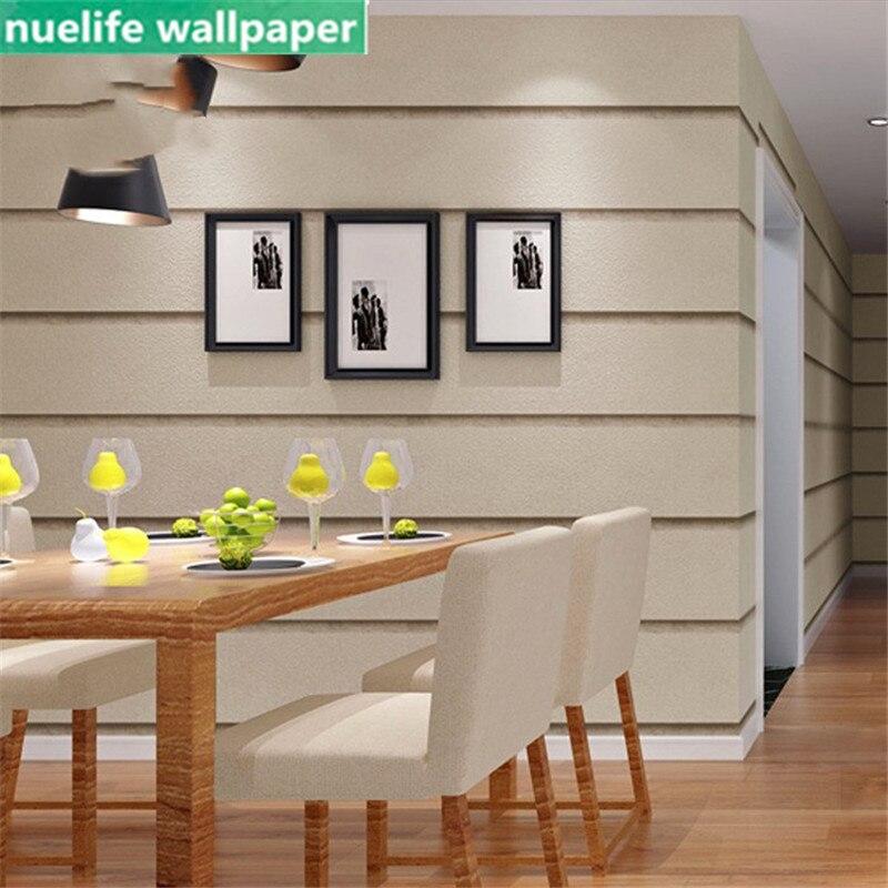 Horizontal et vertical rayé marbre motif non-tissé papier peint étude salle à manger chambre salon TV fond papier peint