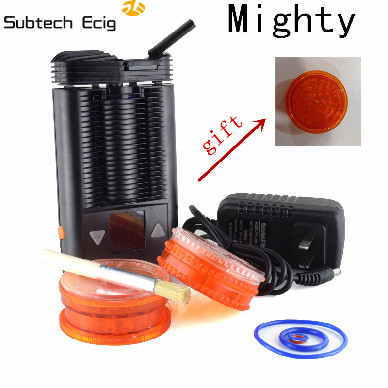 2pc/lot best quality Handheld Personal Dry Herb Vaporizer Mighty Mod WIth Temperature adjustable Mighty vaporizer Box Mod