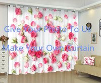 OEM Give Your Photo To Us And Make Your Customized Photo And Szie 3D Curtain