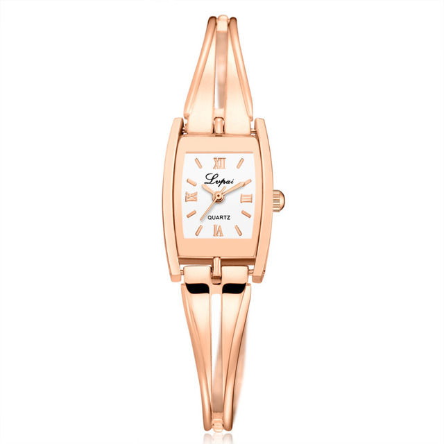 Luxury Woman Bracelet Watches Stainless Steel Band Ladies Watch Sliver Gold Dres