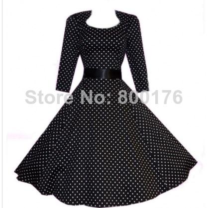 Vintage Swing Prom Dress