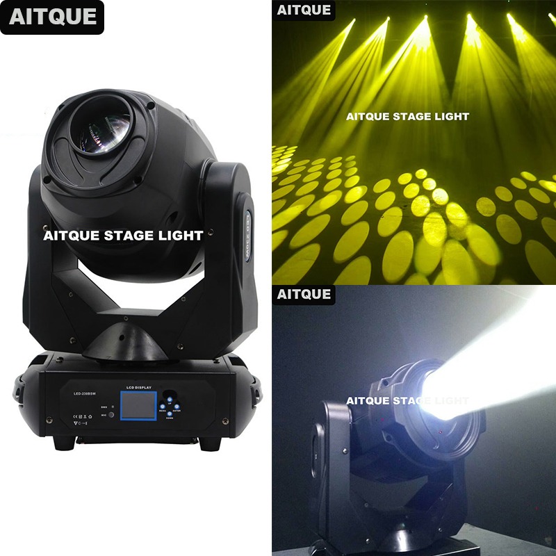 8pcs Party DJ stage light night 230w LED Lyre Moving Head Light lyre spot disco light