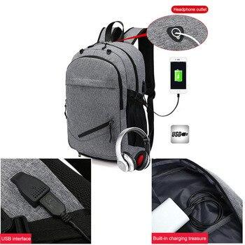 USB Basketball Backpack Gym Fitness Bag Sporttas Net Ball Bags for Men Sports Sac De Sport Tas Men's School Boys Pack XA414WA 3