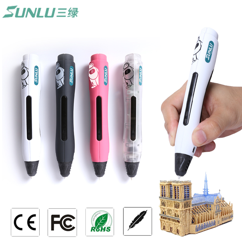 Original SL-400 High quality Intelligent 3D Drawing Pen Supremery 3D Printing Pen Advanced 3D Pen with Safety Holder