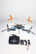 F08191-A DIY Drone Upgraded Full Kit S500-PCB Frame 1045 3-Propeller 4Axis Multirotor RC 6CH QuadCopter UFO RTF / ARF