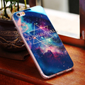 Blue-ray Light Glitter Surface With Clear Frame Case For iPhone 6 6S Plus 4.7&5.5 5 5S SE Art Colorful Mobile Phone Cover Coque