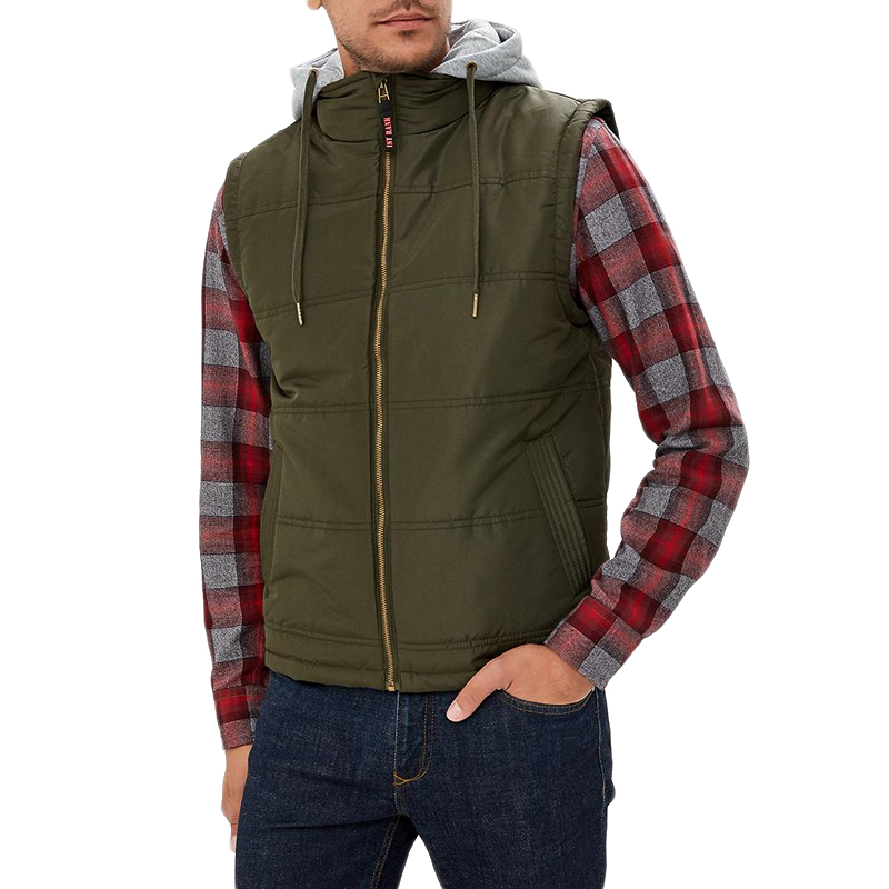 Vests MODIS M182M00201 vest sleeveless jackets for male for man TmallFS security vest hard soft stab vests clothing