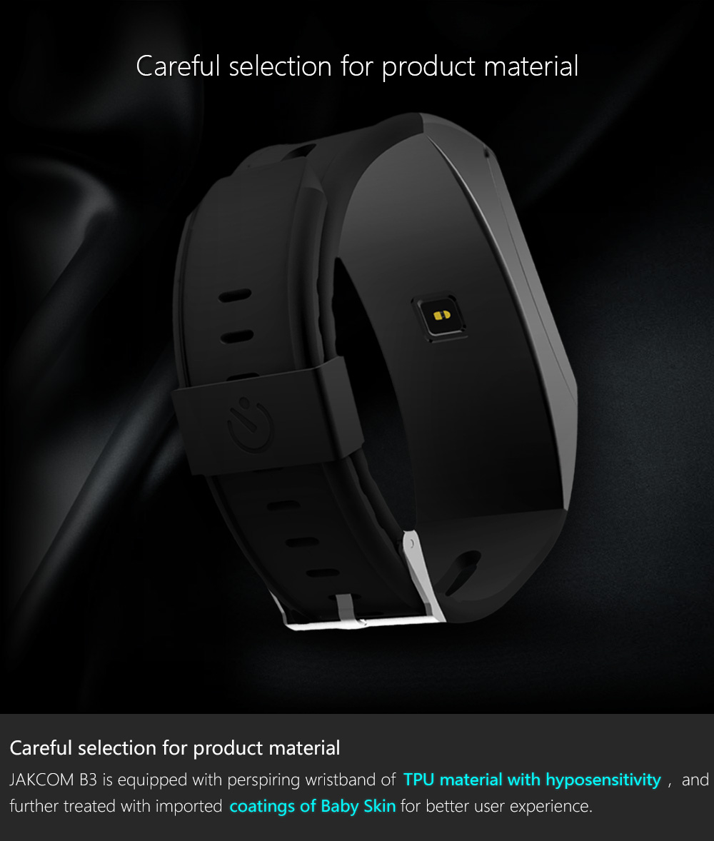 Jakcom B3 Smart Band New Product Of Wristba As Heart Rate Monitor Watch For Xiaomi Mi Band 2 Bracelet Talkband 3