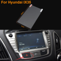 Car Styling 7 Inch GPS Navigation Screen Steel Protective Film For HYUNDAI IX35 Control of LCD Screen Car Sticker