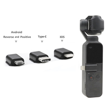 Mobile Phone Connector Micro USB TYPE C Android IOS Connector For DJI OSMO Pocket 2 1 Smartphone Adapter Osmo Pocket Accessories