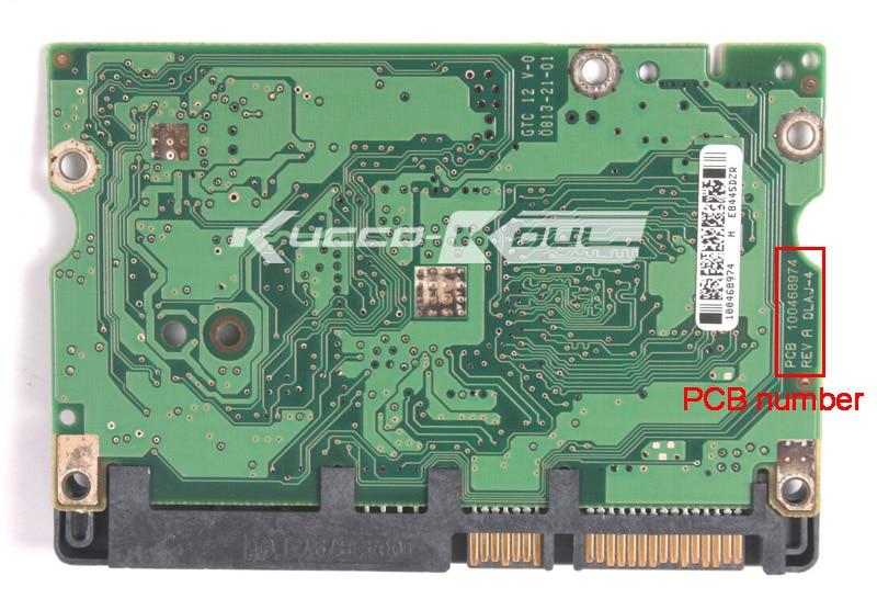 Hard Drive Parts PCB Logic Board Printed Circuit Board 100468974 For Seagate 3.5 SATA 500GB Hard Drive Repair Data Recovery