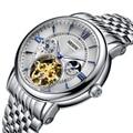 Switzerland Nesun полые Tourbillon часы для мужчин люксовый бренд автоматические механические мужские часы сапфировые водонепроницаемые часы N9091-7