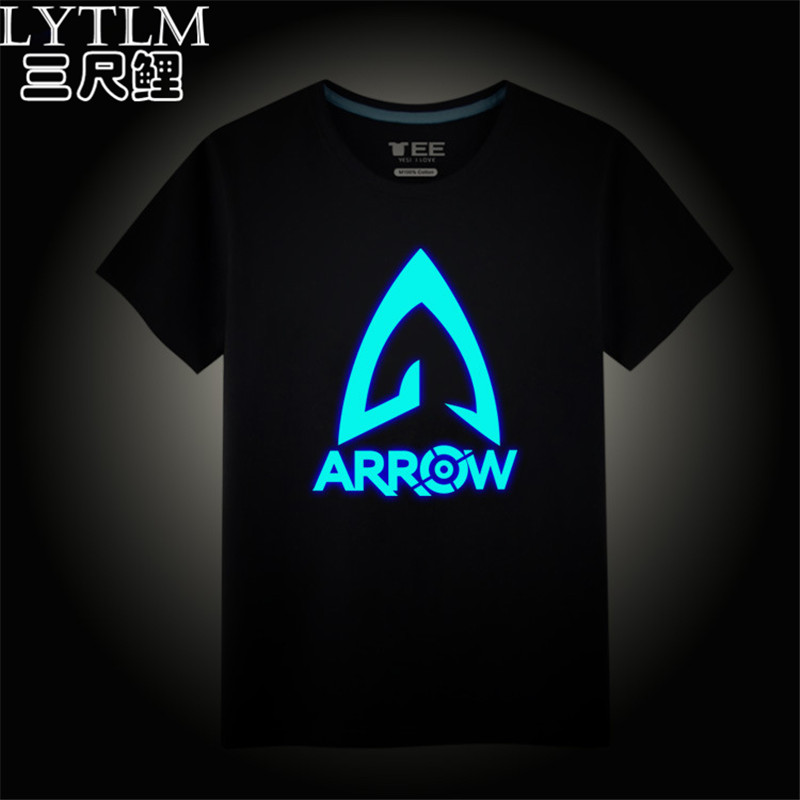 LYTLM Green Arrow T Shirt Plus Size Summer Clothing Fashion