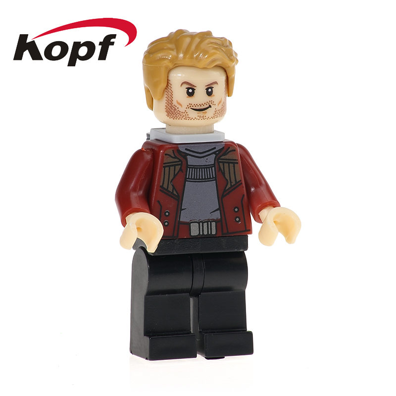 PG156 Building Blocks New Guardians of the Galaxy Star Lord Peter Quil Rocket Tree Man Bricks Action Gift Toys Model Children
