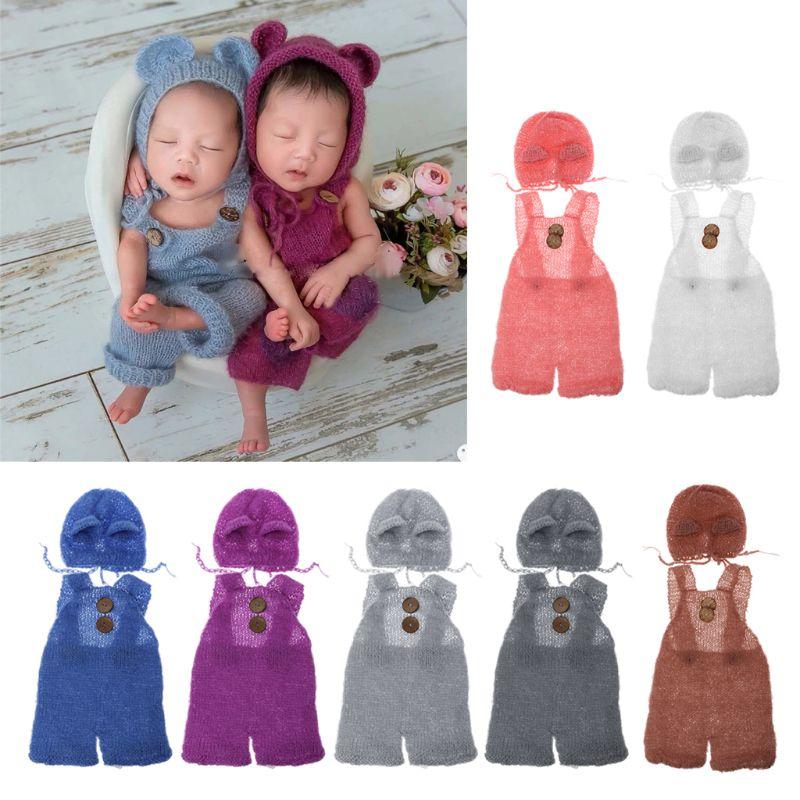 Pink Elephant Hat Hood Soft Fleece Baby Toddler Kids Costume Dress Up Photo Prop