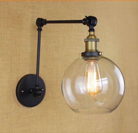 Lights & Lighting Creative Iwhd Style Loft Industrial Wall Lamp Edsion Adjustable Swing Long Arm Wall Light Vintage Lampara Pared 60w Keep You Fit All The Time