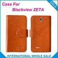 Caliente! 2016 Blackview ZETA caso de la alta calidad de la Original cuero Exclusive caso para Blackview ZETA caso número de seguimiento