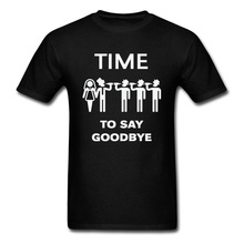 Game Over And Get Married Printed On T Shirt Time To Say Goodbye Lovers Day Fashionable Tops Tees Men 100% Cotton Sweatshirts the last time we say goodbye
