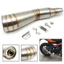 motorcycle muffler stainless steel exhaust Motorcycle Muffler exhaust pipe For honda CB919 CBR954RR CBR600RR CBR900RR CBR929RR