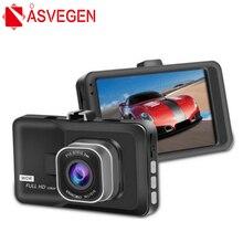 Asvegen Car Vehicle Auto DVR Dash Cam Dual Lens Camera Full HD 1080P dash Camera Video Recorder G-Sensor Night Vision DVR Corder