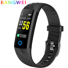 2018 Men Smart Bracelet Fitness Tracker Blood Pressure Monitoring Heart Rate Monitoring Smart Wristband Smart band PK mi band 3