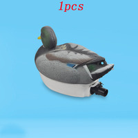 1pcs Simulated Remote Control Bait Duck 26mm Jet Thruster+385 Motor+9g Servo+100A ESC+2CH Controller for DIY Modified Drive Boat