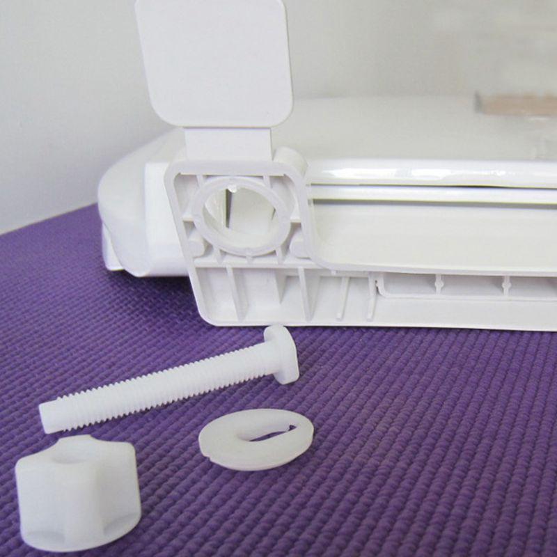 WC-Deckelabdeckung weich schließend hochwertiger weißer - Haushaltswaren - Foto 6