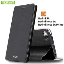 Mofi pour Xiaomi Redmi Note 5A étui pour Xiaomi Redmi 5A étui en silicone à rabat en cuir pour Xiaomi Redmi Note 5A Pro étui Note5A