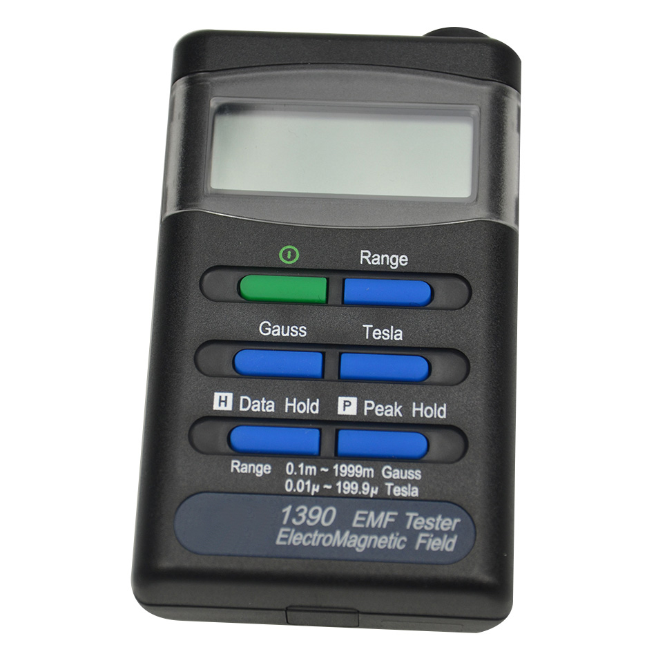 New Quality High Precison Electromagnetic Radiation Detectors Digital Handheld Portable Gauss Electromagnetic Field EMF Meter