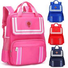 Childer Schoolbags for Girls Princess Primary Escolar Backpacks Kids Orthopedic Waterproof Satchel Mochila Infantil Zip Book Bag(China)