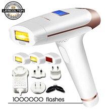 Оригинальный Lescolton 3in1 ipl эпилятор удаления волос ЖК дисплей лазерная машина постоянный бикини триммер электрический depilador лазер