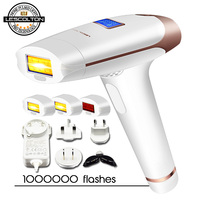 Original Lescolton 3in1 IPL Epilator Hair Removal LCD Display Machine Laser Permanent Bikini Trimmer Electric depilador a laser