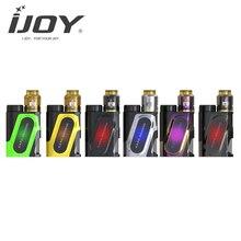 100 W E-cigarrillo IJOY CAPO Squonk Kit COMBO con RDA Triángulo funciona con 20700/18650/21700 batería Vape Vaporizador 510 Hilo