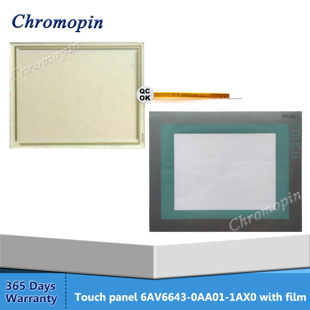 Touch screen panel glass for USP 4.484.038 OM-08 A with Front overlay Electronic Components & Semiconductors LEDs, LCDs & Display Modules
