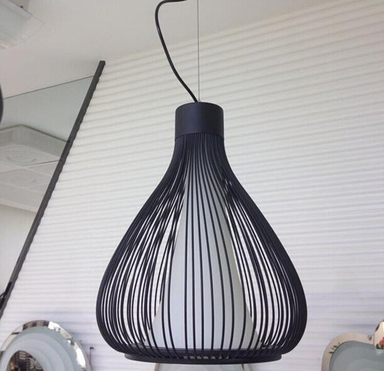 Industrial Cage Pendant Lights Lamps Design American