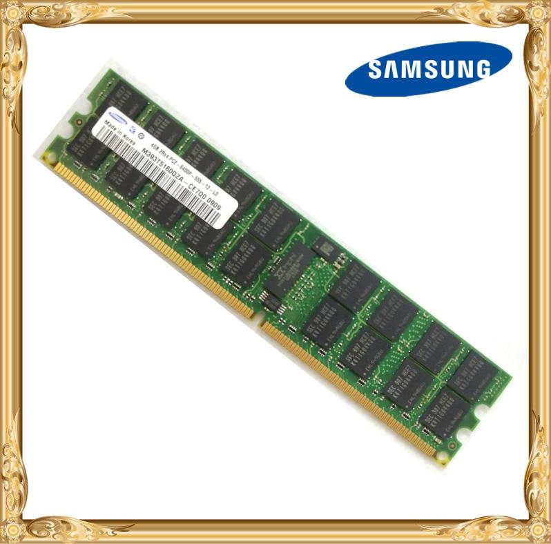 Samsung Server Memory 4GB DDR2 2Rx4 REG ECC RAM 800MHz PC2-6400P 667 4G
