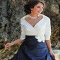 Custom made mãe dos vestidos de noiva plus size mãe de noiva pant ternos com Jacket vestidos de madrinha de madres novia