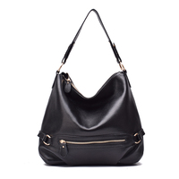 New Style High Quality Genuine Leather Handmade Design Fashion Women Single One Shoulder Bag Ladies Tote