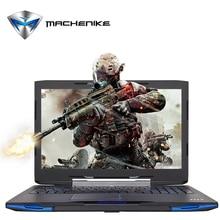 Machenike F117-F1k Intel Core i7-7700HQ Laptop 15.6'' Gaming Notebook GTX1050Ti GDDR5 4G SSD 240G RAM 8G DDR4 2400 1080P Type C(China (Mainland))