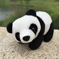 18cm mini Lovely soft Stuffed Kid Animal Soft Plush Simulation Panda for children's best Gift Doll Toy