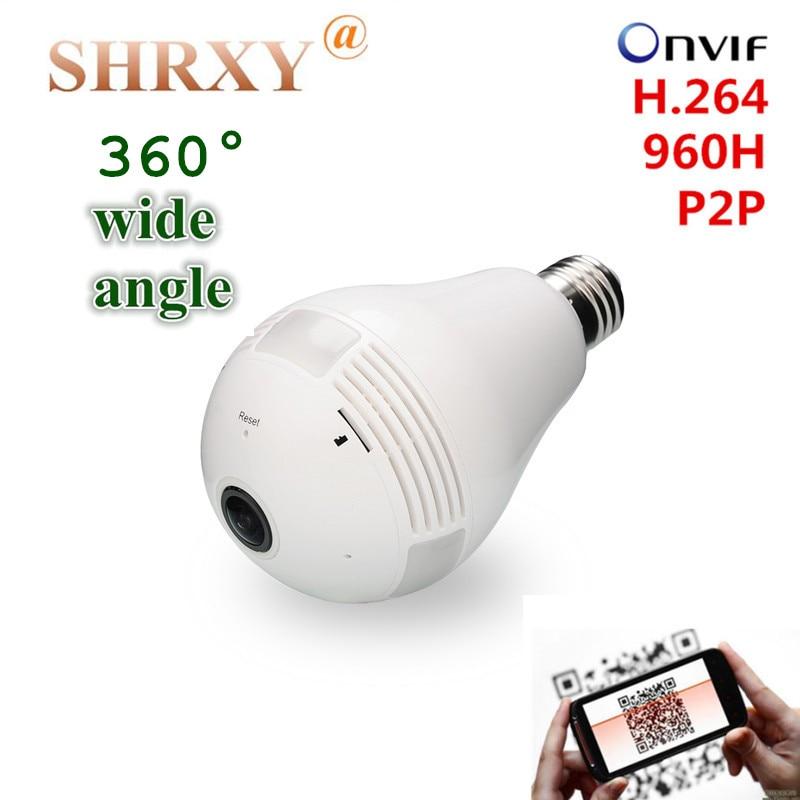 360 Degree Panoramic Wide Angle Fisheye Security IP Camera 960P Wireless Mini CCTV Camera Light Version Wifi Camera