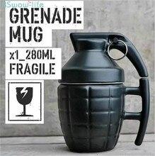 Weapon Style with Lid Mug Office Ceramic Coffee Mug Couple Funny Teacup Creative Gift creative office spoof teacup ceramics coffee cup piggy nose mug