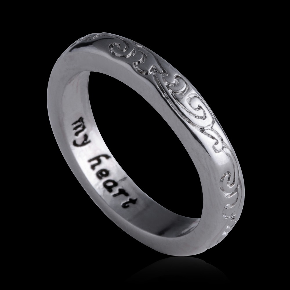 Vintage Engagement Ring Meteorite Thin Anium Wedding Band For Women In Bands From Jewelry