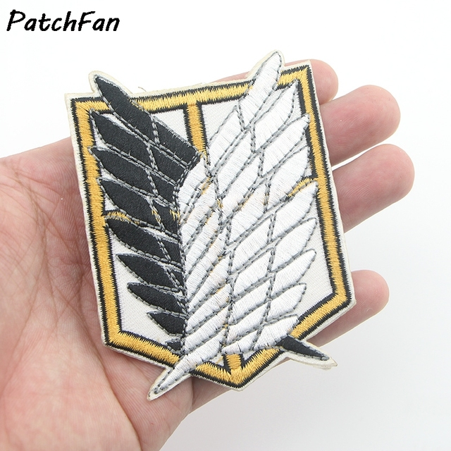 survey corps Embroidered Clothes Patch