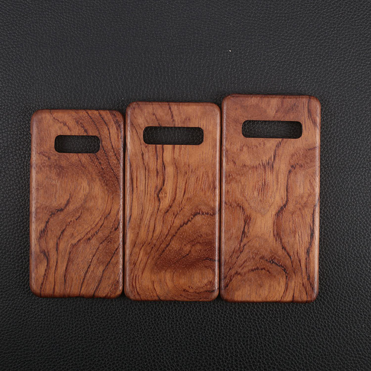 Image 2 - Natural Wooden phone case FOR Samsung S10 Plus S10 S10lite case 