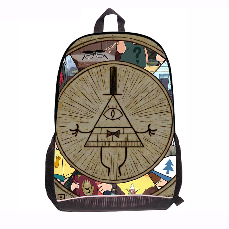 font b Fashion b font Russia Cartoon Oxford font b Backpack b font Gravity Falls