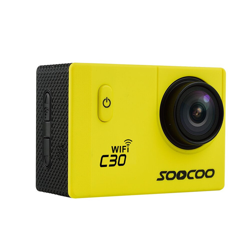 SOOCOO C30 Sports Action Camera Wifi 4K Gyro 2.0 LCD NTK96660 30M Waterproof Adjustable Viewing angles soocoo c30 sports action camera wifi 4k gyro 2 0 lcd ntk96660 30m waterproof adjustable viewing angles