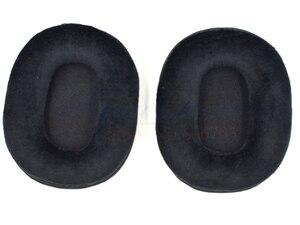 Image 4 - Defean Velvet Velour OVAL colour 3 Ear pads cushion replacement for Audio Technica ATH M40 ATH M50 M50X M30 M40 M35 SX1 M50 M50S
