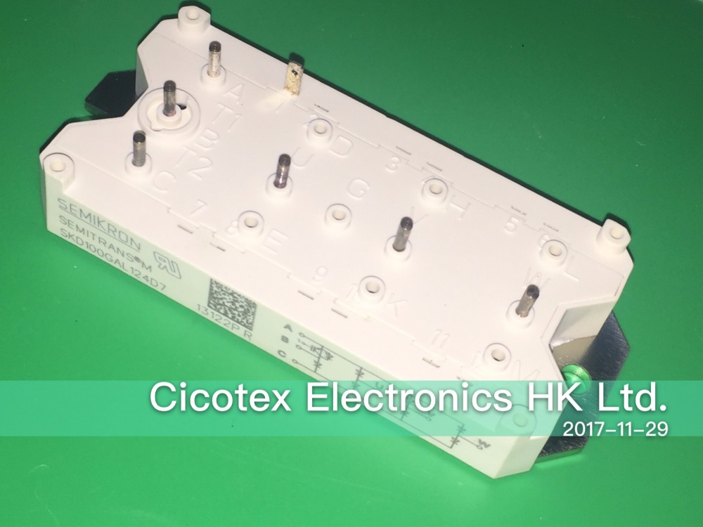 SKD100GAL124D7 100GAL124 MODULE IGBT POWER BRIDGE RECTIFIERSSKD100GAL124D7 100GAL124 MODULE IGBT POWER BRIDGE RECTIFIERS