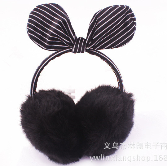 Ear Warmers Women Ladies Girl Sweet  Plush Fluffy Warm Fur Earmuffs Earlap Ear Cover Ear Muffs Orejeras Winter AW6717